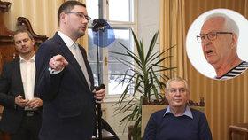 Ovčáček se naštval kvůli falešnému účtu pro kandidáta Zemana. Drahoš má na transparentním účtu už přes 10 milionů.