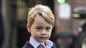 Princ George (4) v ohrožení: Neznámá žena se vkradla do jeho školy