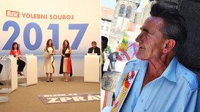 Co poradí politici panu Petrovi (73), který nemá peníze?