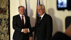 Zemanova poslední cesta. Na Slovensku se prezident sejde s Kiskou