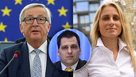 Europoslanci Charanzová a Zdechovský okomentovali pro Blesk.cz projev šéfa Evropské komise Junckera.