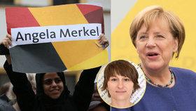 Angela Merkelová kráčí k triumfu. Podle analytičky Lizcové i proto, že je klidnou političkou.