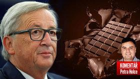 Juncker chce lepší potraviny pro Česko.