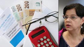 Penze se zvýší v průměru o 475 korun měsíčně. Marksová: Důchodci si to zaslouží