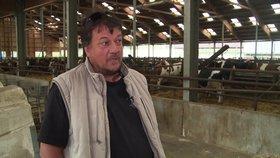 Utrápený zemědělec Petr promluvil o drahém másle i mlékárnách: Ničí nás! Pomohou politici?
