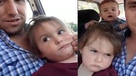 Dívka (†3) zemřela při autonehodě. Seděla na klíně nepřipoutaného otce, který ji natáčel na video