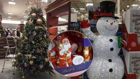 Prodejci berou Vánoce útokem.