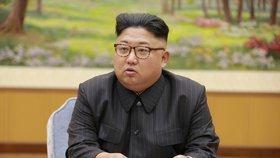 Severokorejský vůdce Kim Čong-un se pustil do amerického prezidenta Trumpa.