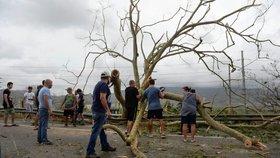 Následky hurikánu Maria v Portoriku