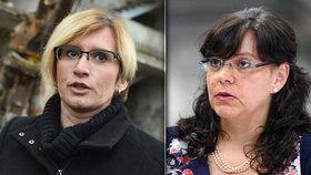 Ministryně Šlechtová a Marksová se střetly kvůli zvýšení důchodů od příštího roku.