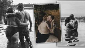 Snoubenci nafotili sérii sexy fotografií: Okamžitě se stali terčem posměchu i obdivu.