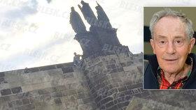 Záhadná smrt herce Jana Třísky (†80): Poslední foto před pádem! Takhle je mi dobře, tvrdil…