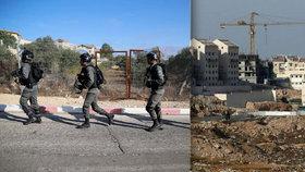Palestinec u Jeruzaléma zastřelil tři izraelské policisty. Zbraň vytáhl zpod košile