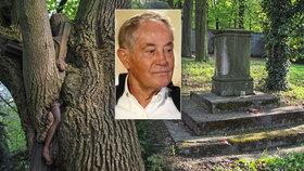 Kde legendární herec Jan Tříska (†80) spočine? Měl vybraný hřbitov! Jenže už neexistuje...