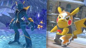 Pikachu dává ostatním pokémonům do tlam: Recenze bojovky Pokkén Tournament DX