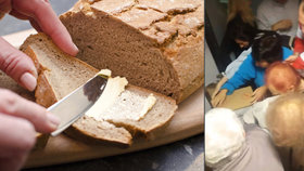 Nadávky, šťouchance i rány! Proč se Češi rvou o máslo jako šílení? Psycholog to prozradil