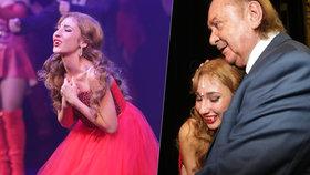 Natálka Grossová plakala během představení: Kvůli tátovi!