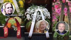 Pohřeb Jana Třísky (†80): Kdo nepřišel a poslal za sebe věnec?