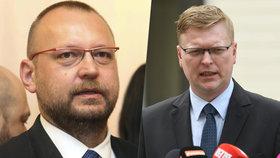 Pavel Bělobrádek a Jan Bartošek (KDU-ČSL)