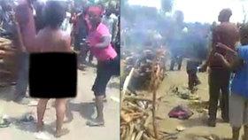 Ženu v Kongu znásilnili, uřízli jí hlavu a vypili její krev: Protože jim naservírovala rybu!
