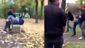 Brutální útok na dva školáky se odehrál v Lounech. Útočníkovi je teprve 15 let!