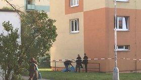 Sebevražda v Kladně: Muž se zabil skokem ze 3. patra, nechal dopis na rozloučenou