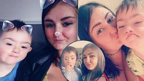 Mamince (29) zbývá týden života: Musí se rozloučit se synem s Downovým syndromem