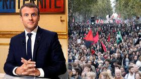 Francouzský prezident Macron