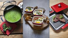 Brokolicová polévka, pečená vejce i steak: Vyzkoušejte 3 rychlé a netradiční recepty