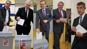 Volby ONLINE: Policie zatkla Sládka. Čechů odvolilo přes 40 procent, boj vrcholí