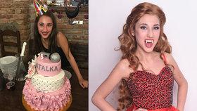 Grossová doháněla oslavu narozenin: Tajný mejdan v mámině hospodě!