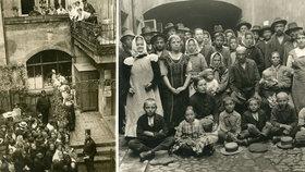 Uprchlíci, ranění, fronty na jídlo a zprávy o mrtvých. Tak prožívala Praha hrůzu první světové války