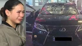 Oligarcha promluvil o nehodě dcery, která zabila pět lidí: Na kolenou vás prosím, odpusťte jí!