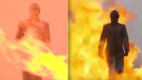 Putinovi supervojáci: Rusové vyvinuli oblek, který ochrání před granáty i ohněm