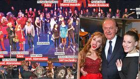 Muzikál Ples upírů oslavil o Halloweenu jubilejní 100. představení: Upírská rodina má celkem 80 členů!