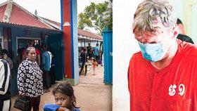 Je mi těžko na hrudníku! Václav zavřený v Kambodži za sex se 14letou píše z vězení