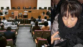 Černá vdova zabila tři manžele, dostala trest smrti
