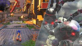 Sonic Forces recenze: Stvořte modrému ježkovi parťáka a roztočte to jako na centrifuze