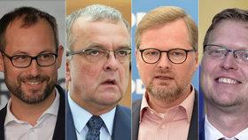 Fiala vzdal bitvu o šéfa Sněmovny. ODS, lidovci, TOP 09 a STAN mají společný blok