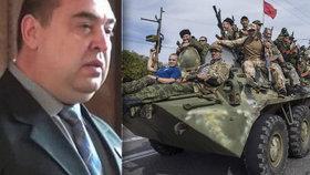 Ozbrojenci na Ukrajině obklíčili Luhansk. Chtějí prý sesadit ministra vnitra