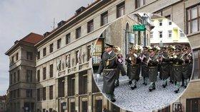 Za vojenskou hudbou do knihovny na Starém Městě: Živý orchestr zahraje zdarma