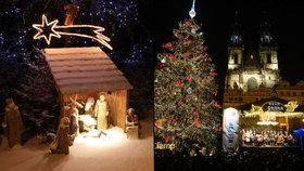 Začínají výstavy betlémů, adventní koncerty i řemeslné trhy: Nalaďte se na vánoční atmosféru v Praze