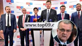 Pospíšil musí v TOP 09 usměrnit Kalouska, radí experti. Spojí pravice síly?