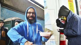"""Martin vaří pro lidi bez domova. """"Těší mě pomáhat druhým,"""" tvrdí"""