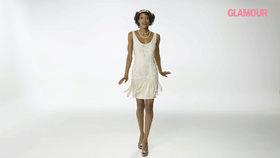 100 let proměn šatů: Satén, ramenní vycpávky i průstřihy