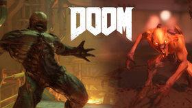 Nejbrutálnější řežba na cesty plná utrhaných končetin: Recenze Doom pro Switch