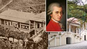 Otevření Bertramky se stále protahuje: Připomeňte si slavnou minulost vily, kde tvořil i Mozart