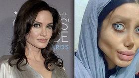 Šílená proměna dívky (19) posedlé Angelinou Jolie: Vypadá jako mrtvola! Zhubla 40 kg a podstoupila 50 operací