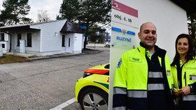Odtud nově vyjíždí záchranáři: Dvacátou základnu otevřeli kousek od letiště
