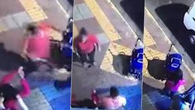 Žena (†38) během krvavé bitky vzala kočárek s dítětem (8 měs.) a hodila ho do ulice!